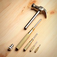 GAM Hammer 6-in-1 Claw Hammer and Phillips Screwdriver Combination Tool