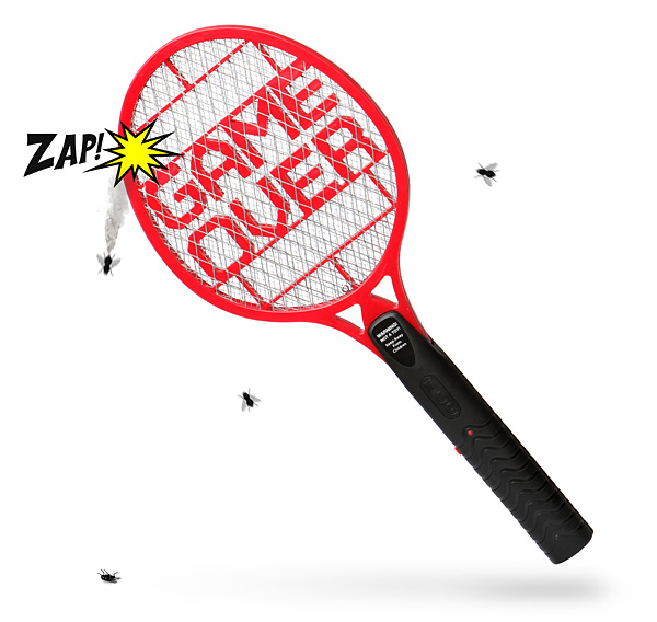 GAME OVER Bug Zapper