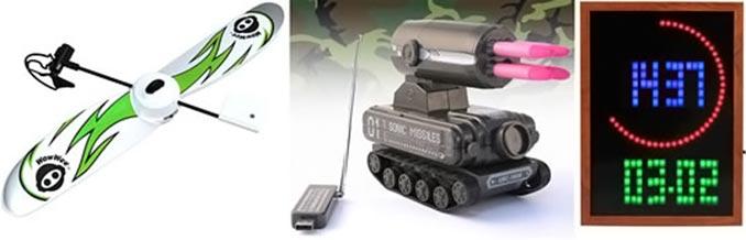 Gadgets at Smidigt