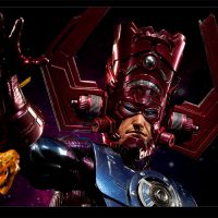 Galactus Maquette with Nova