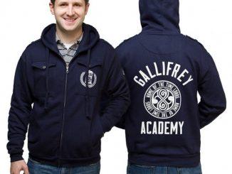 Gallifrey Academy Zip-Up Hoodie
