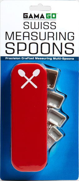 Gama-go Swiss Measuring Spoons