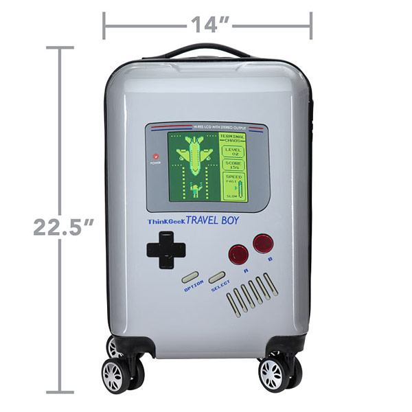 Game Boy Themed Luggage