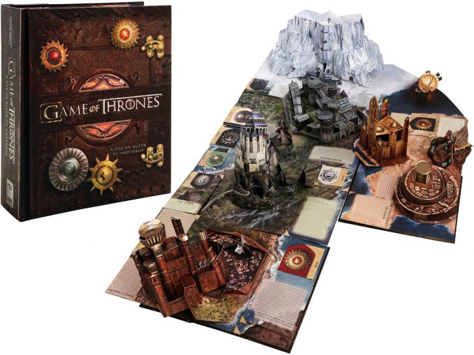 Game Of Thrones A Pop Up Guide To Westeros Book