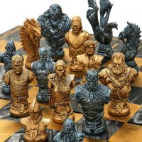 Game Of Thrones Collector's Chess Set Detail