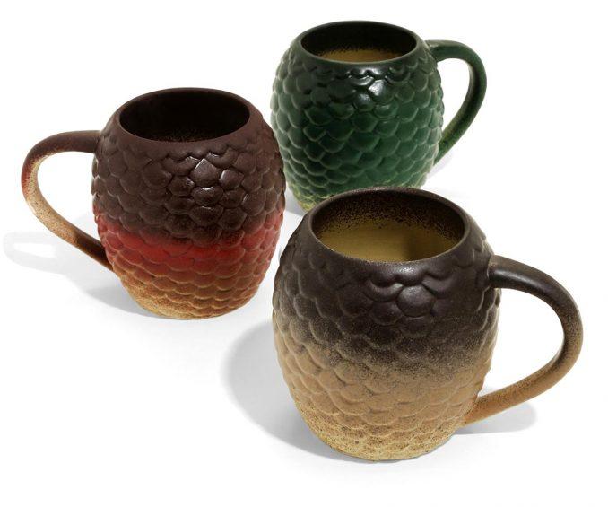 Game Of Thrones Dragon Egg Mug Set