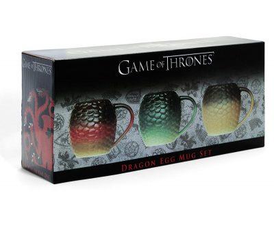 Game Of Thrones Dragon Egg Mug Set Box