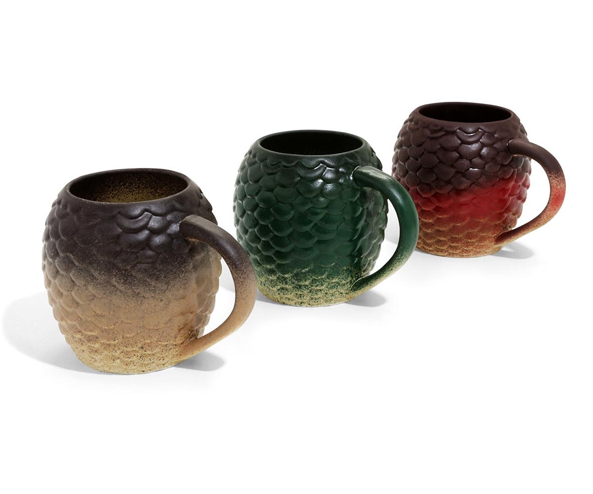 Game Of Thrones Dragon Egg Mug Set
