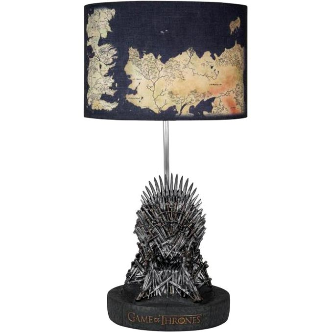 Game Of Thrones Iron Throne Desk Lamp