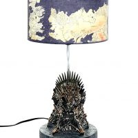Game Of Thrones Iron Throne Lamp