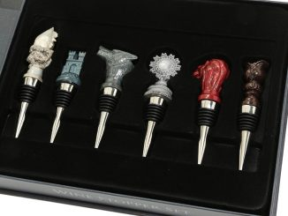 Game Of Thrones Sigil Map Marker Wine Stopper Set