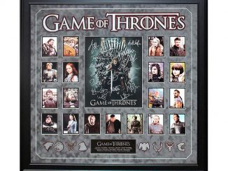 Game Of Thrones Signed Collage