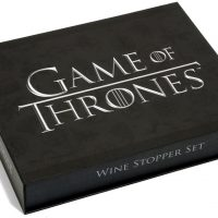 Game Of Thrones Wine Stopper Set Box