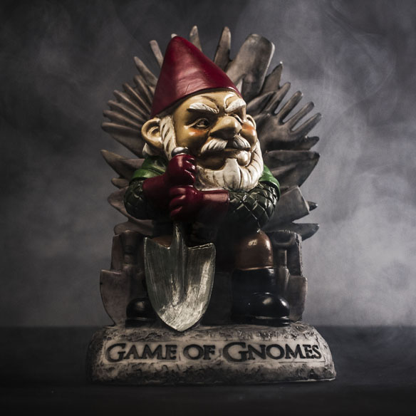 Game of Gnomes Statue