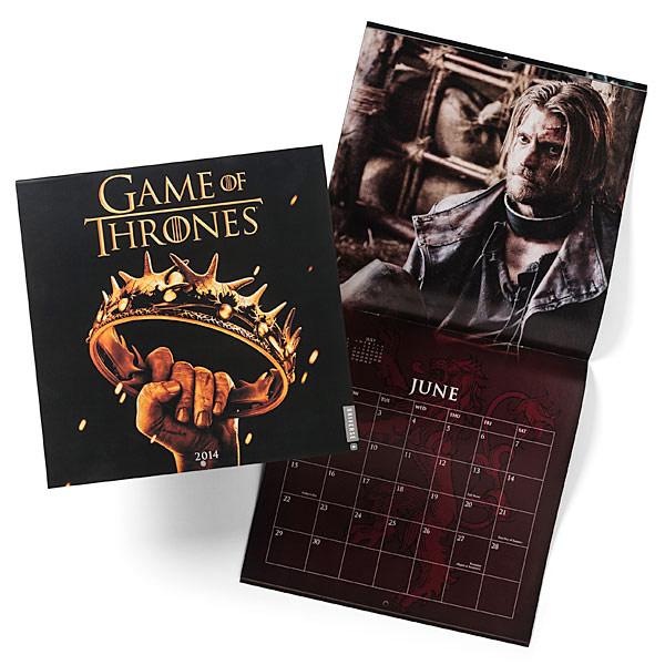 Game of Thrones 2014 Calendar