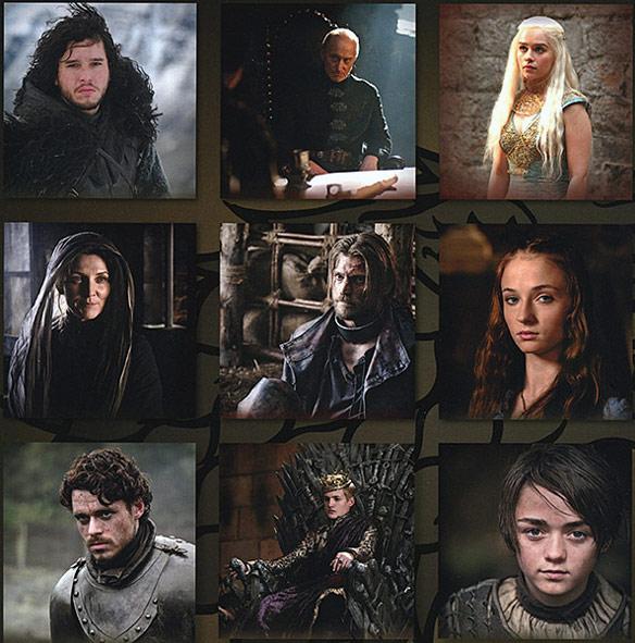 Game of Thrones 2014 Wall Calendar