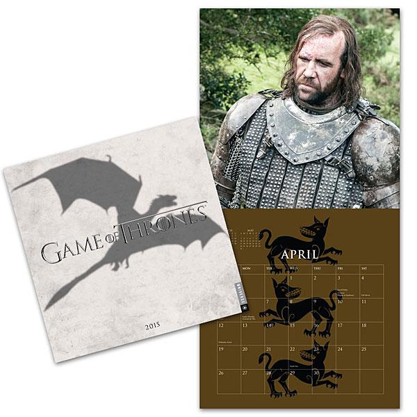 Game of Thrones 2015 Wall Calendar