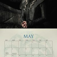 Game of Thrones 2019 Wall Calendar May