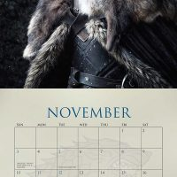 Game of Thrones 2019 Wall Calendar November