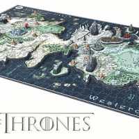 Game of Thrones 3D Map of Westeros Puzzle Game Of Thrones D Map Westeros Puzzle on crown lands map game of thrones, detailed map of westeros game of thrones, google map game of thrones,