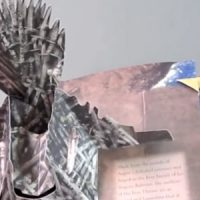 Game of Thrones A Pop-Up Guide to Westeros Iron Throne