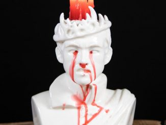 Game of Thrones Bleeding Joffrey Candle