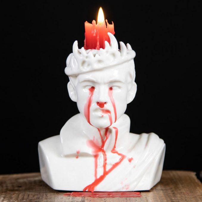 Game of Thrones Bleeding Joffrey Candle