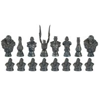 Game of Thrones Chess Set White Walker Pieces