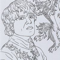 The Game Of Thrones Coloring Book Is Available For 15 At TeamArts Etsy Store
