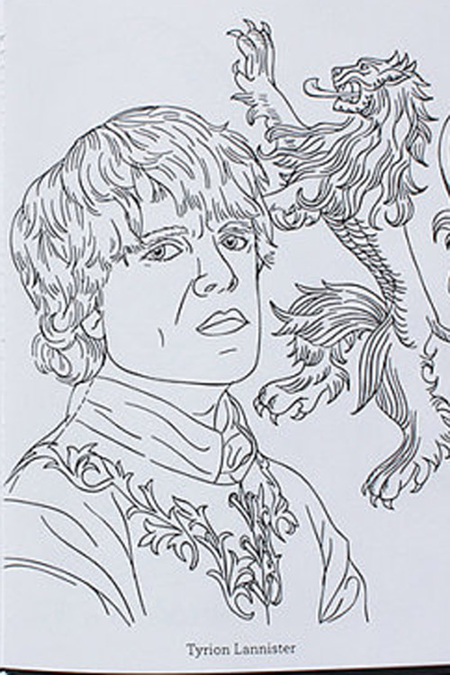 Game Of Thrones Coloring Book : The game of thrones coloring book is available for at teamart s