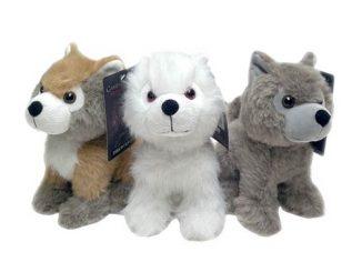 Game of Thrones Direwolf Cub Plush Set