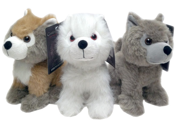 Game of Thrones Direwolf Plush Toys