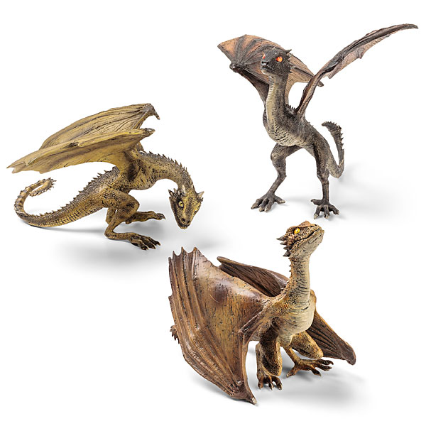 At last we have some game of thrones dragon sculptures to decorate our