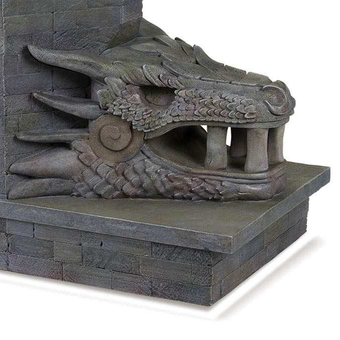 Game of Thrones Dragonstone Gate Bookend