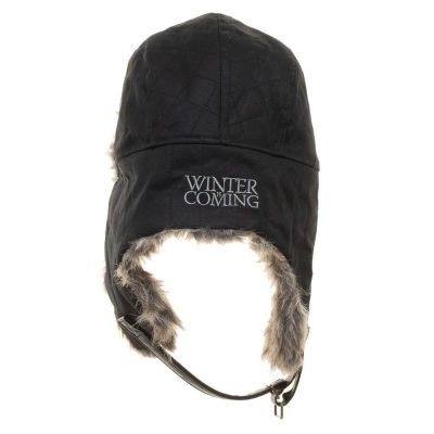 Game of Thrones Faux Fur Trapper Hat Back