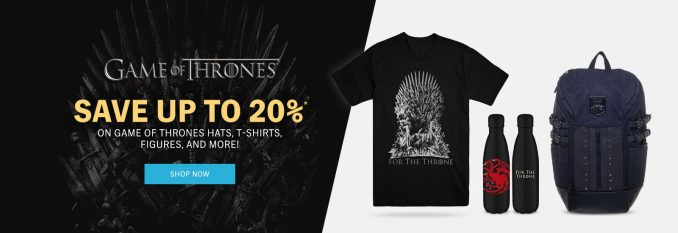 Game of Thrones HBO Shop Discount
