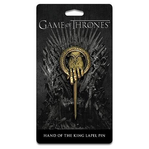 Game of Thrones Hand of King Pin