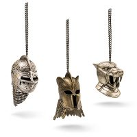Game of Thrones Helmet Ornaments 3 Pack