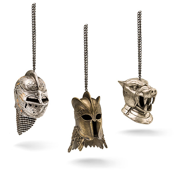 game of thrones helmet christmas ornaments