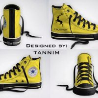 Game of Thrones House Baratheon Converse Chucks