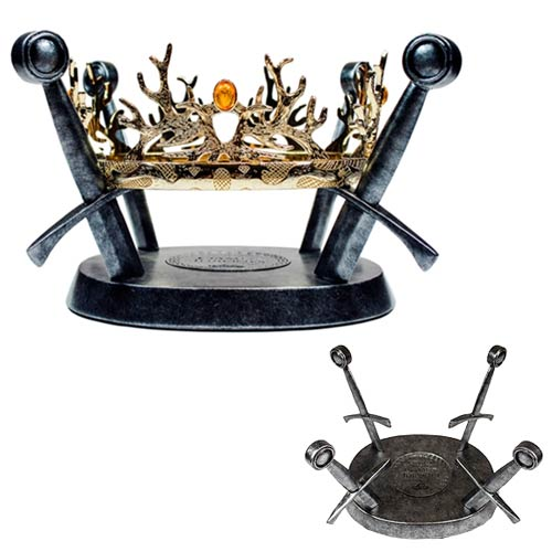 Game of Thrones House Baratheon and Lannister Royal Crown Prop Replica