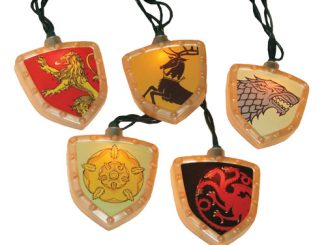 Game of Thrones House Crest Christmas Lights