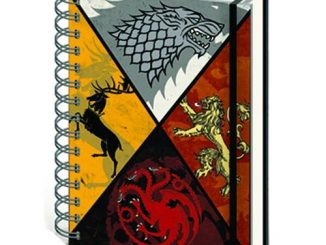 Game of Thrones House Crests Notebook