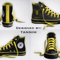 Game of Thrones House Greyjoy Converse Chucks