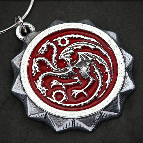 Game of Thrones House Sigil Wine Charms