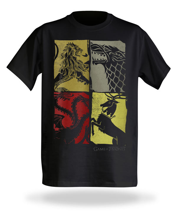 Game of Thrones House Sigils Tee