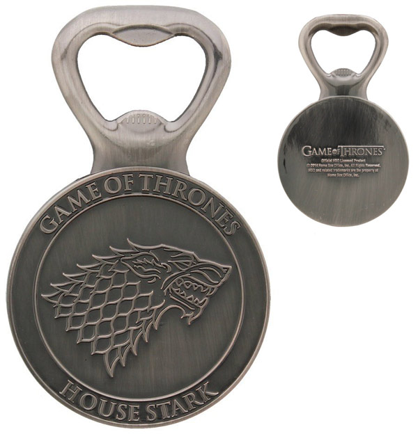 Game of Thrones House Stark GOT Bottle Opener