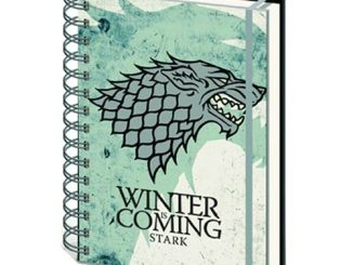 Game of Thrones House Stark Notebook
