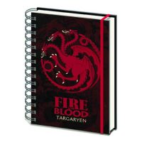Game of Thrones House Targaryen Notebook