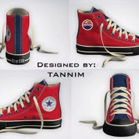 Game of Thrones House Tully Converse Chucks